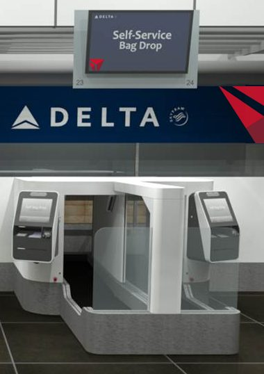 Facial Recognition Delta Bag Drop
