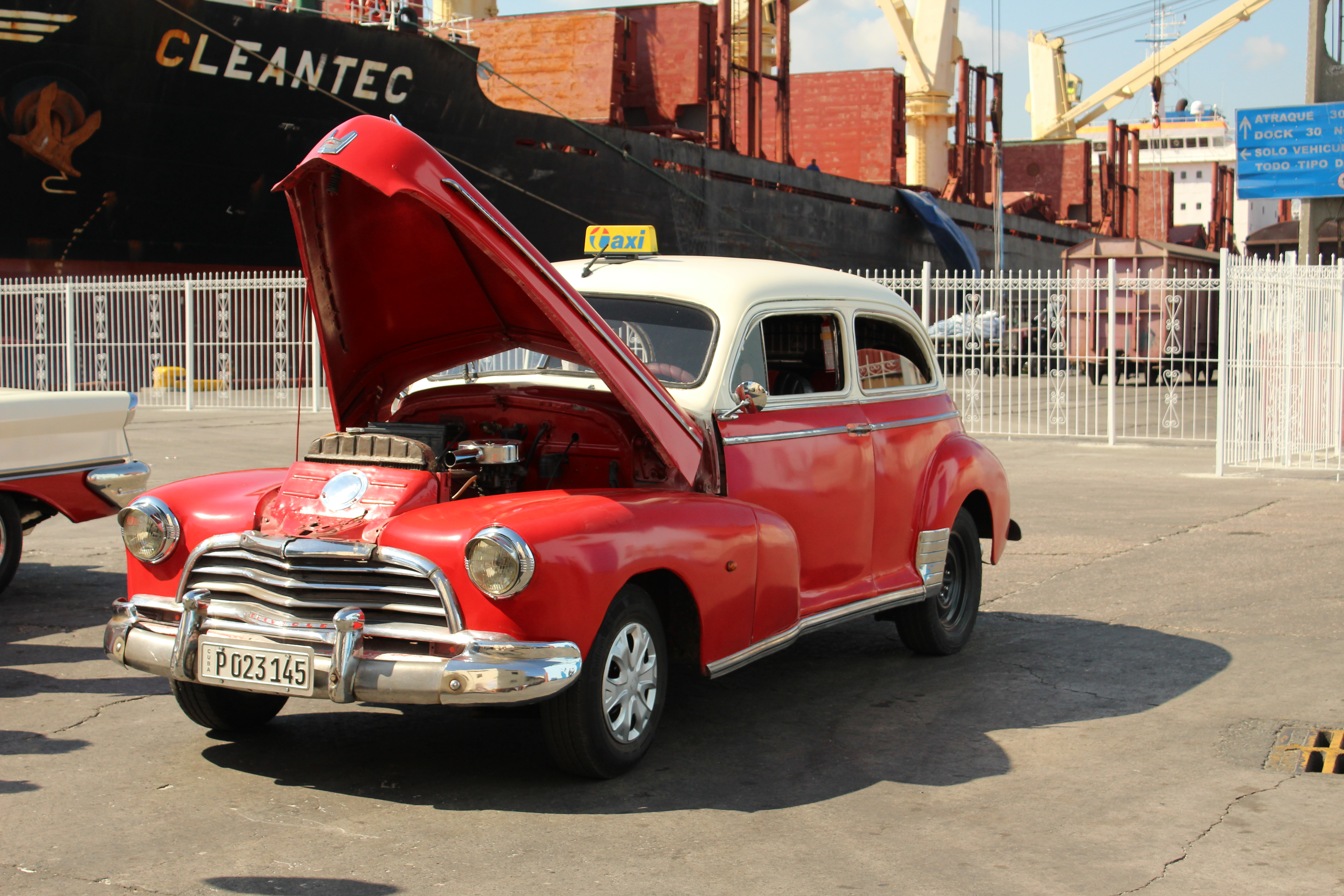 Havana Cuba taxi