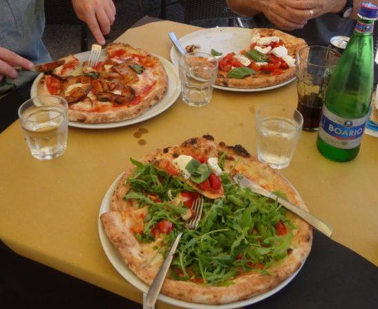 pizza trieste italy