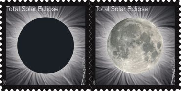 eclipse stamp USPS