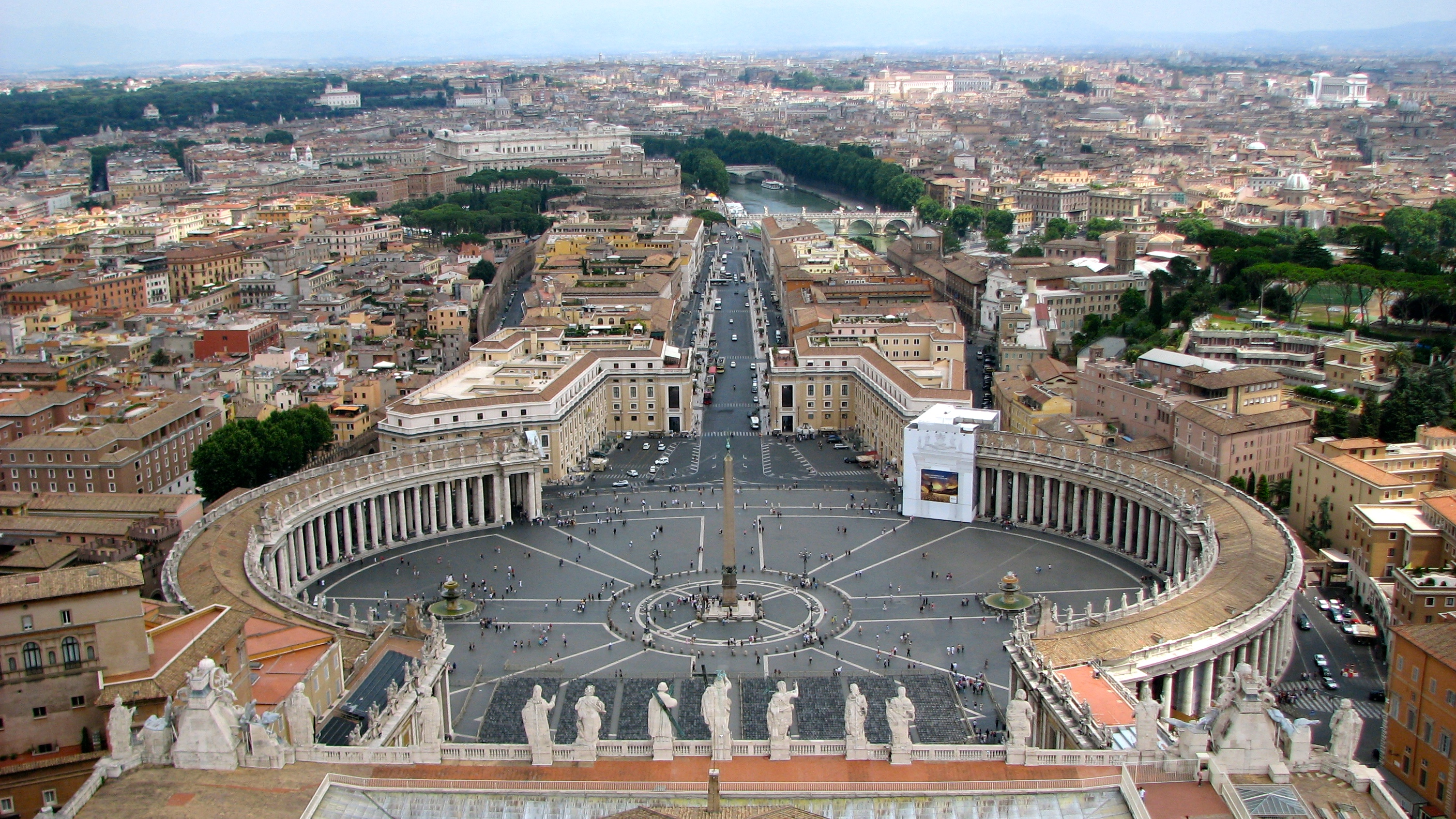 St. Peter's Square Rome Italy
