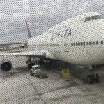 Delta Boeing 747 DTW Detroit Metro Airport Queen of the Skies