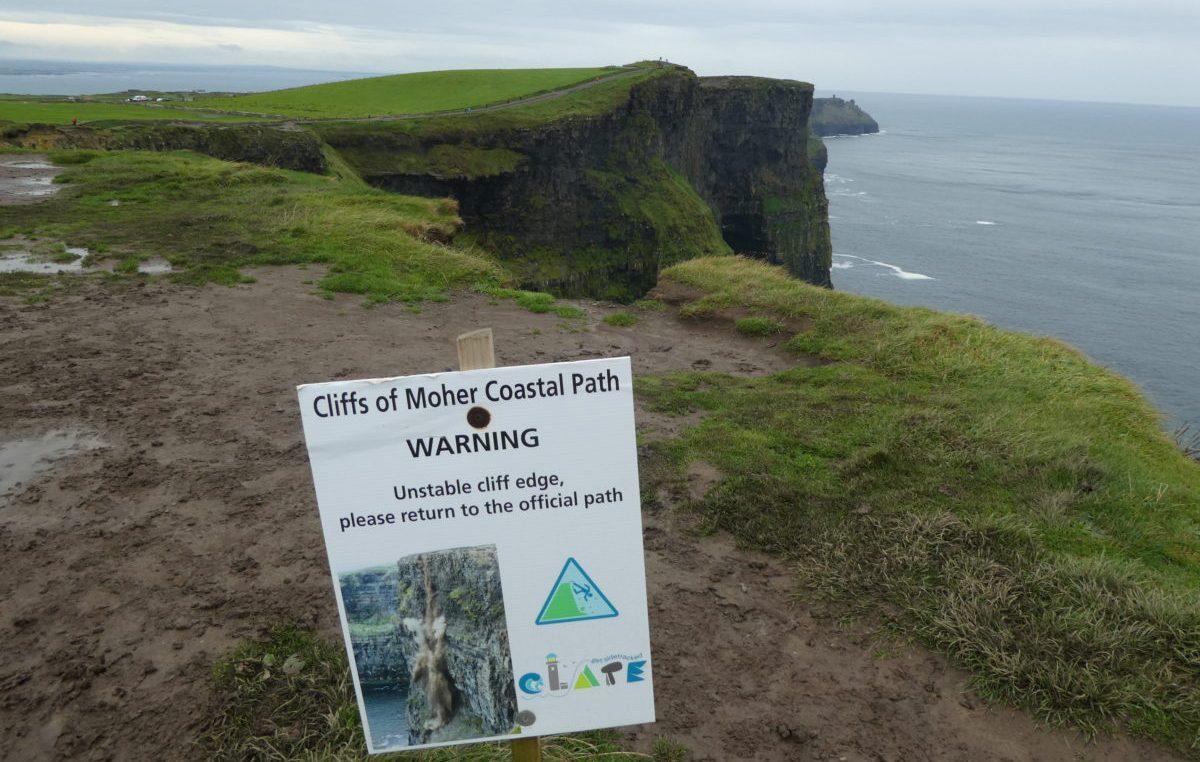 Cliffs of Moher wild atlantic way ireland terry anzur