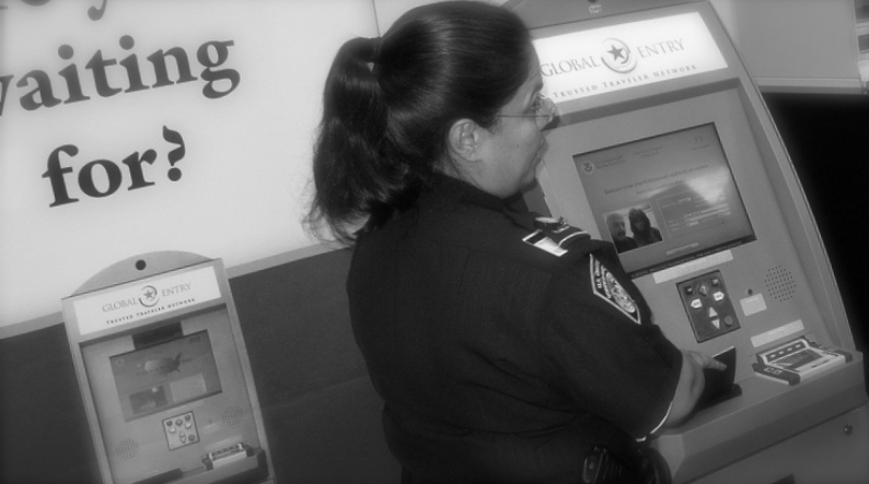 Global Entry Customs Security