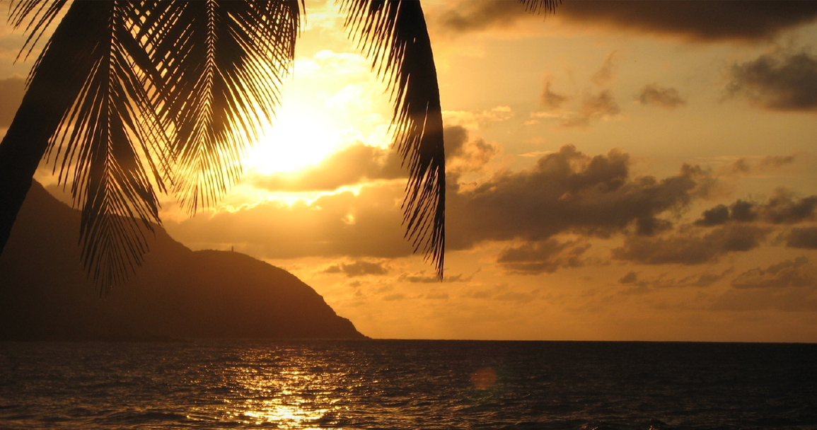 The Voyage Report sunset U.S. Virgin Islands St. Croix