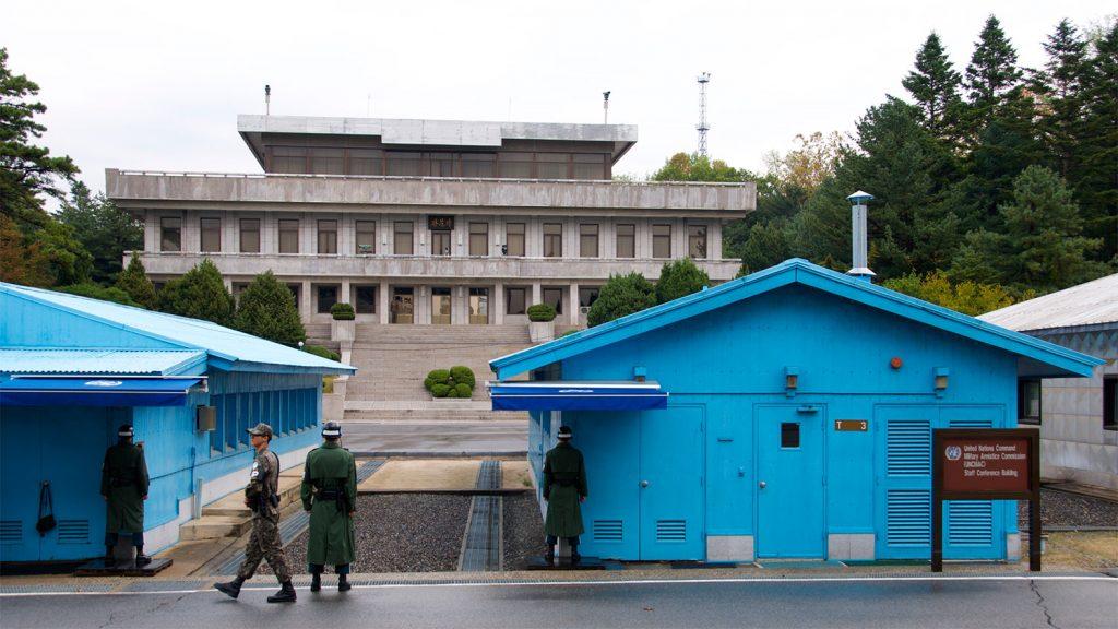 North Korea DMZ South Korea