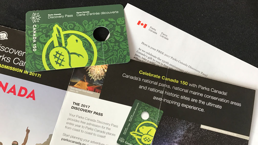 Discover Parks Canada free Discovery Pass