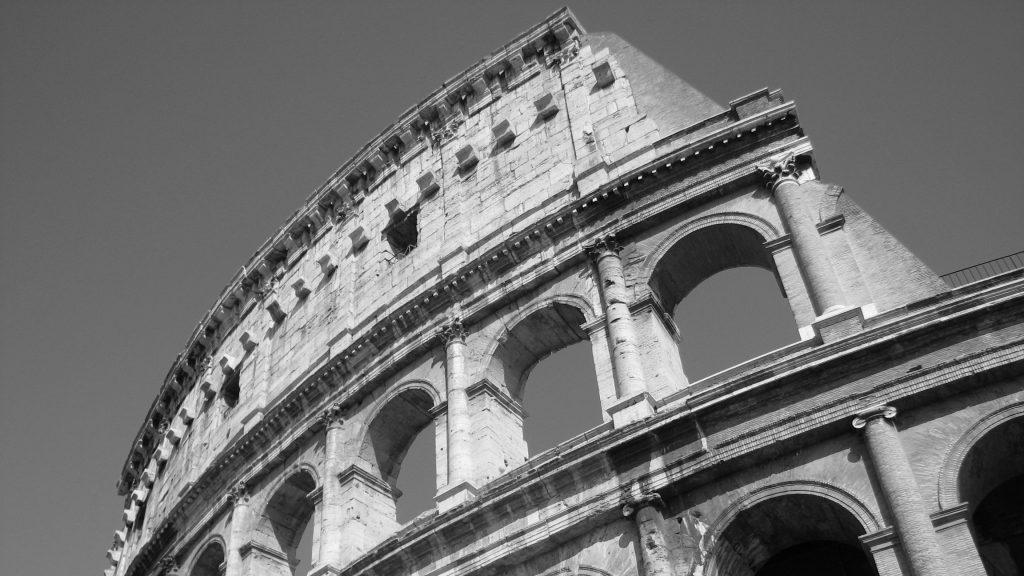 Italy Rome Colosseum