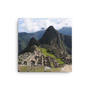 Machu Picchu, Peru, on Canvas