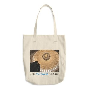 2-Sided Cotton Tote Bag featuring the United States Capitol