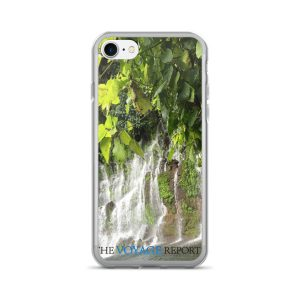Waterfalls Cascade Down a Wall of Rock in the El Salvador Rainforest on iPhone 7/7 Plus Case
