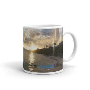Gorgeous Sunset in Bermuda on Mug