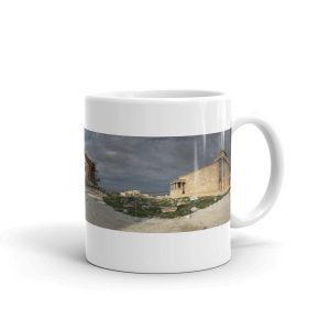 A Gorgeous Panoramic Photograph of the Acropolis in Athens, Greece on a Mug