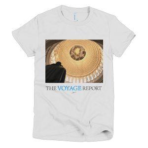 United States Capitol Rotunda on a Short Sleeve Women's T-shirt