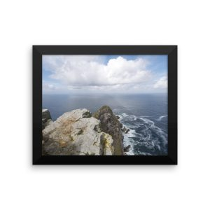 Framed poster of Cape Point, South Africa