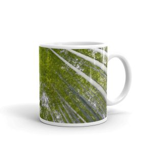 Bamboo Forest in Kyoto, Japan, on mug