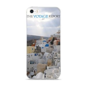 Sun Rays Fall on the Famous Village of Oia on the Greek island of Santorini on these iPhone 5/5s/Se, 6/6s, 6/6s Plus Cases