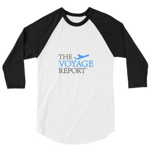 The Voyage Report Classic Baseball Raglan Shirt-MADE IN THE USA