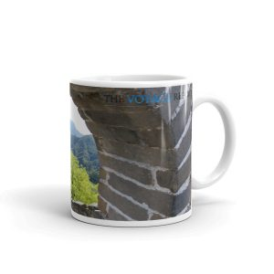 The Mutianyu section of the Great Wall of China on a Mug