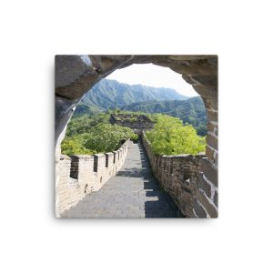 The Mutianyu section of the Great Wall of China on Canvas