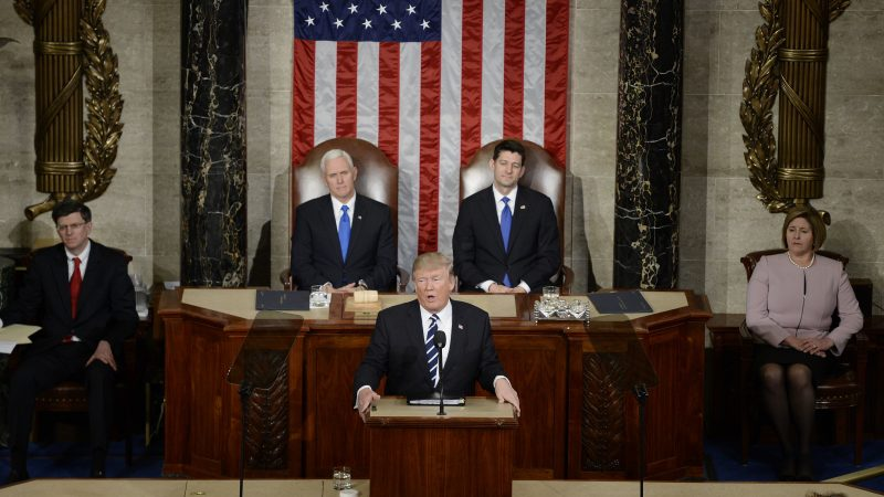 Trump, Joint Session of Congress