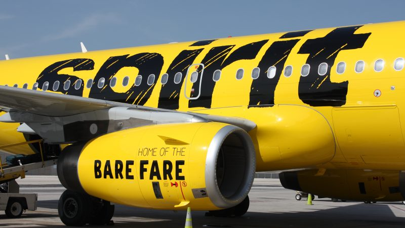Spirit Airlines Discount Airline
