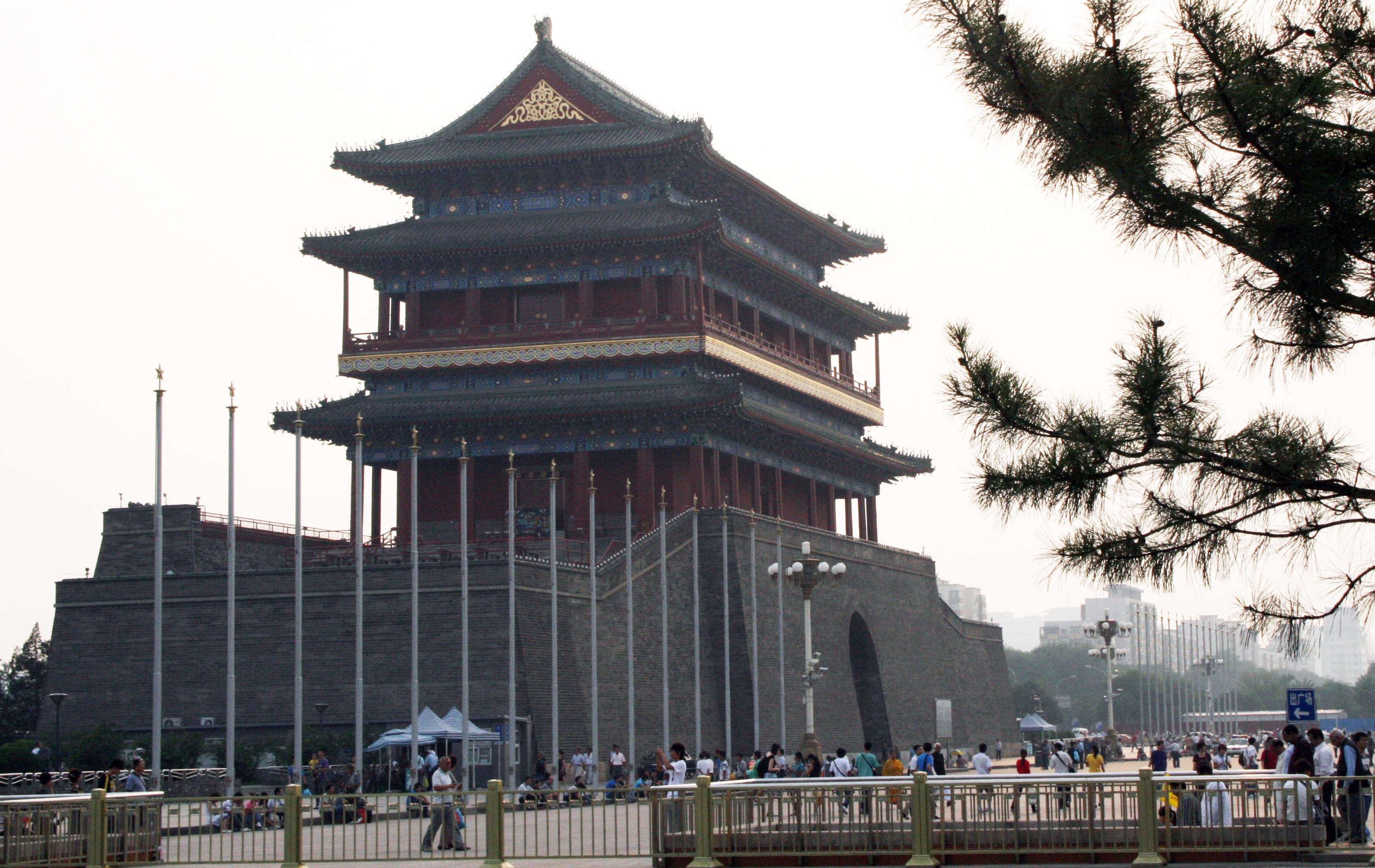 West Central China Beijing city gate