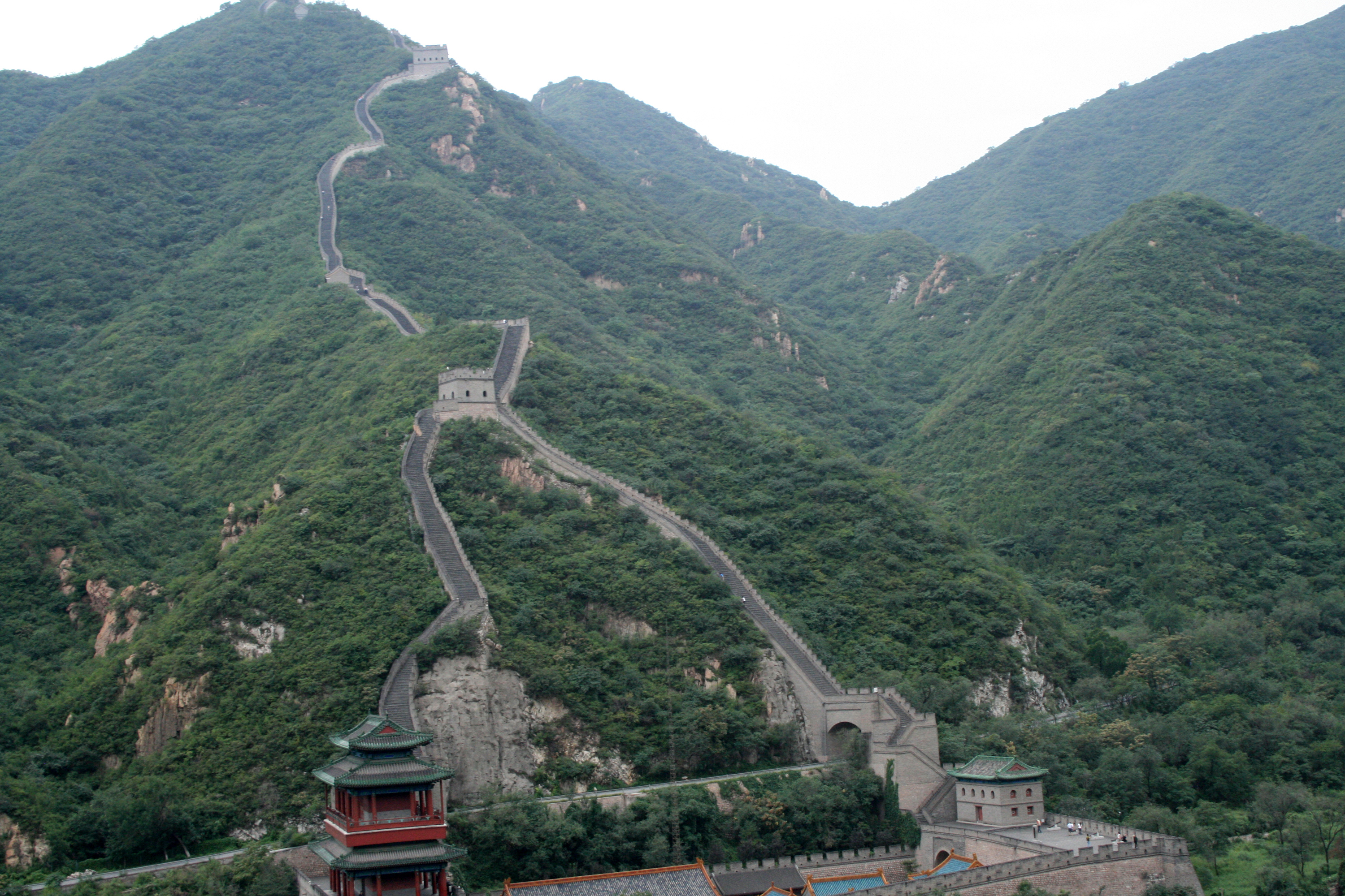 West central China Great Wall of China Beijing