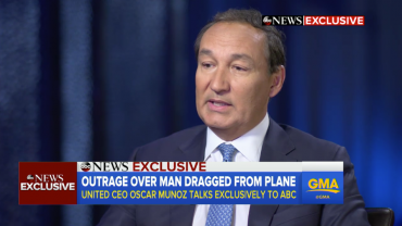 United CEO Apologizes Congress Hearings Possible