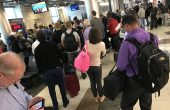 Memorial Day Travel Airport Lines