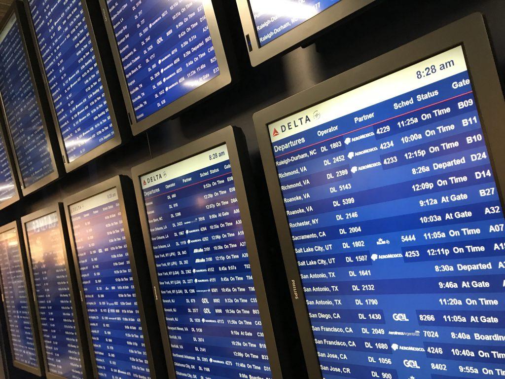 Airport Atlanta Redeem Airline Miles