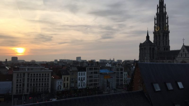 Antwerp northern Belgium Cathedral
