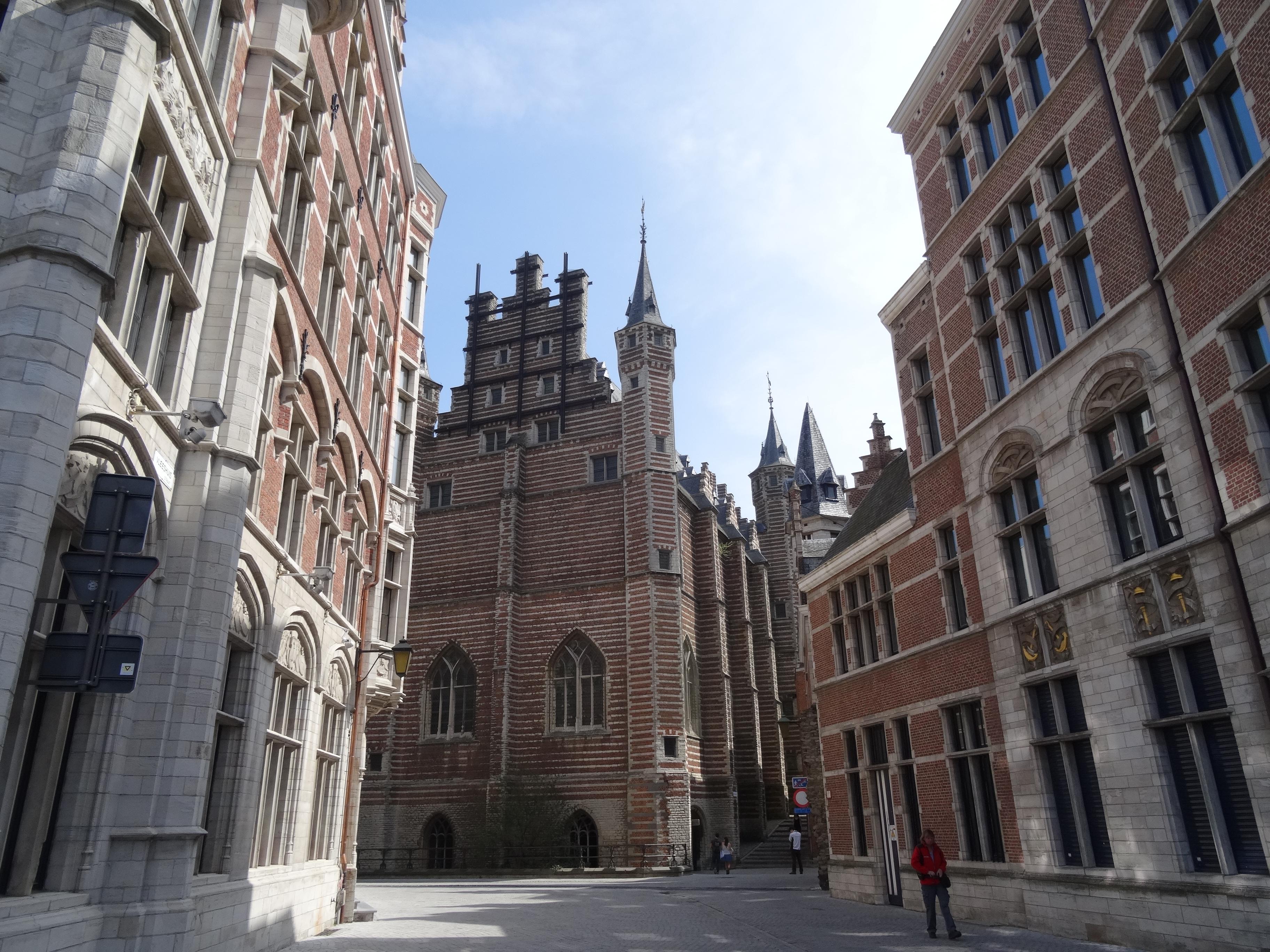 Antwerp Belgium historic center