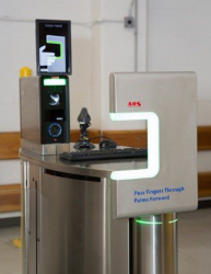 Fingerprint Checkpoint Airport TSA
