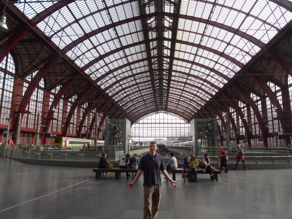 Antwerp Belgium Railway station