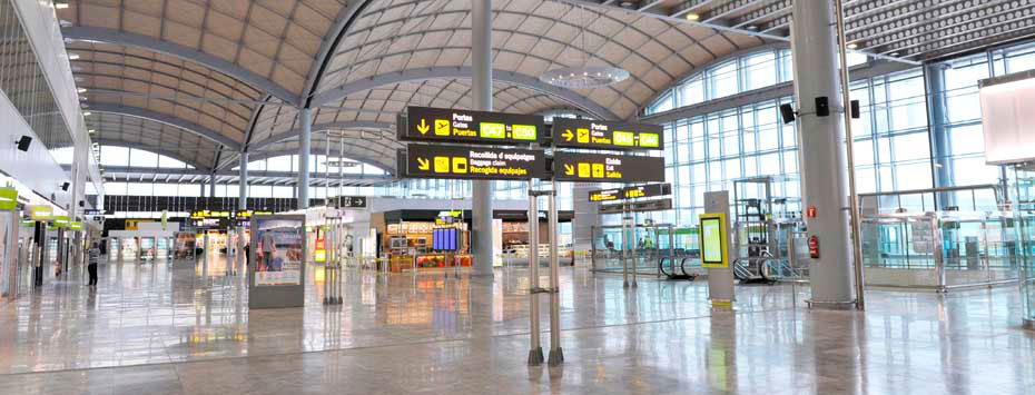 Aeroporto Alicante : First class best airports in europe announced the