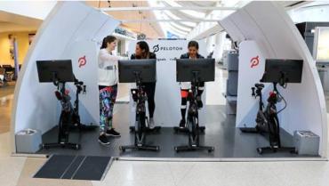 Airborne Gym Airbus Airplane Gym