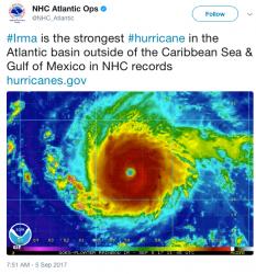Hurricane Irma National Hurricane Center
