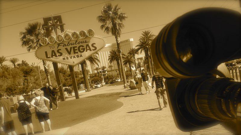 Las Vegas sign Nevada mass shooting
