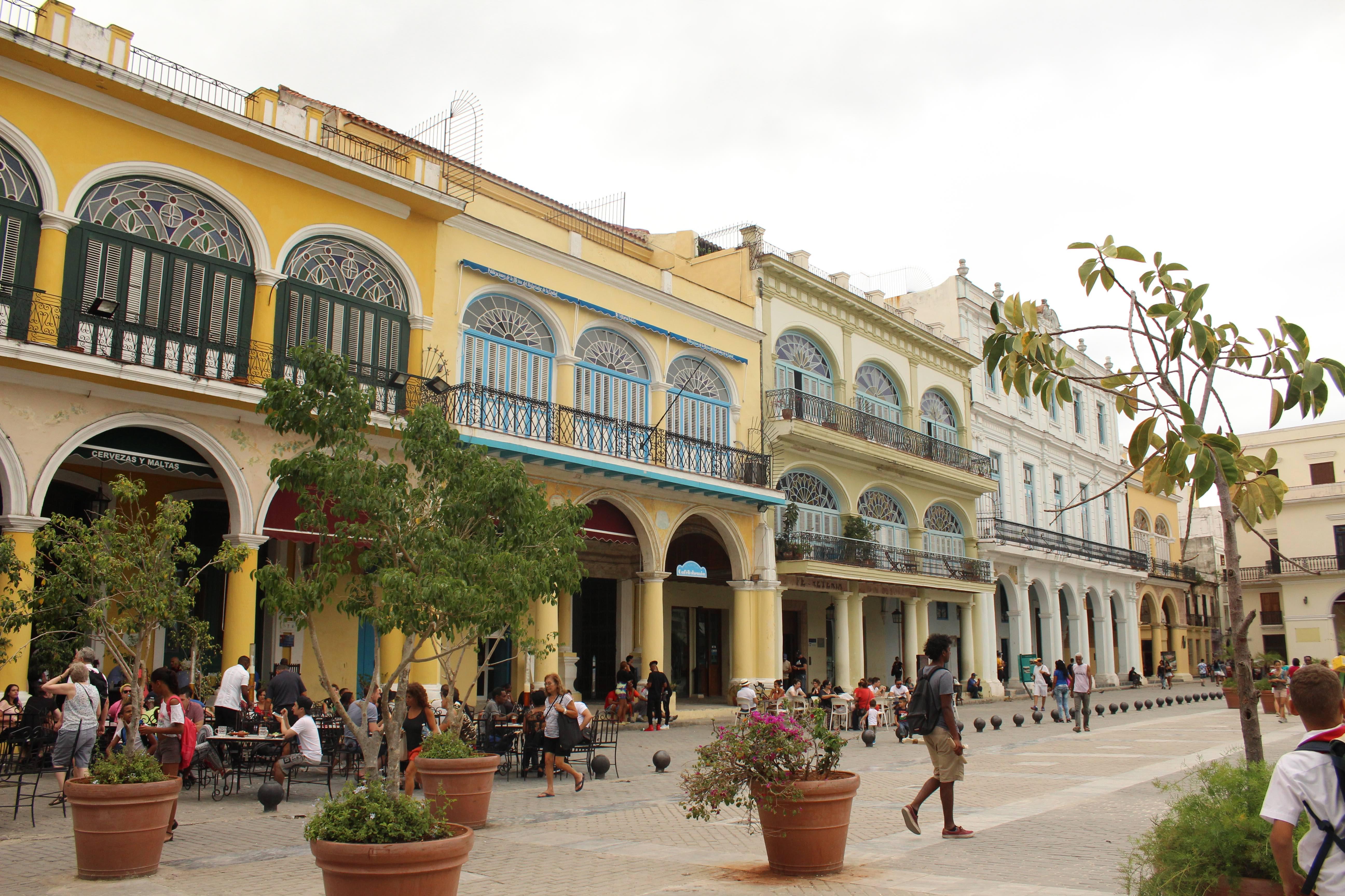 Havana Cuba Plaza Vieja