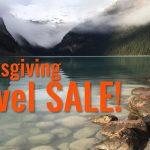 Thanksgiving Travel Sale Slide Deal alert