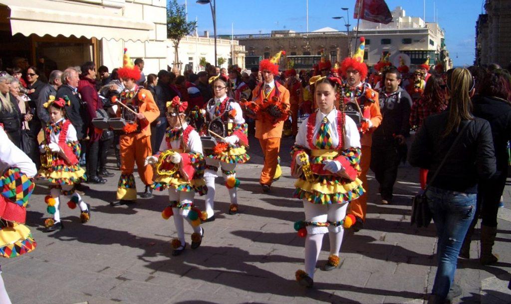 Mardi Gras in Malta Carnival Sunday Travel Column Maltese Parade