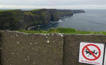 Cliffs of Moher Ireland Wild Atlantic Way no drones