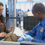 TSA airport security checkpoint enhanced screening