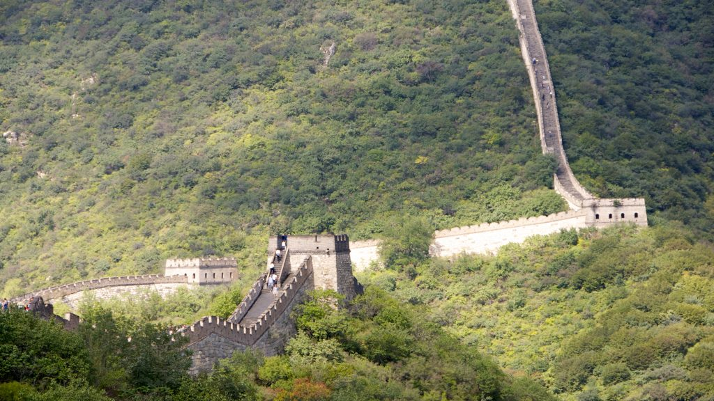Great Wall of China Sonic Attack